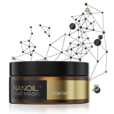 a melhor máscara capilar Nanoil Keratin Hair Mask